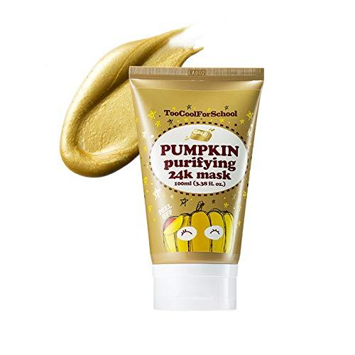 Too Cool For School Pumpkin Purifying 24K Mask, 3.38 Fl Oz
