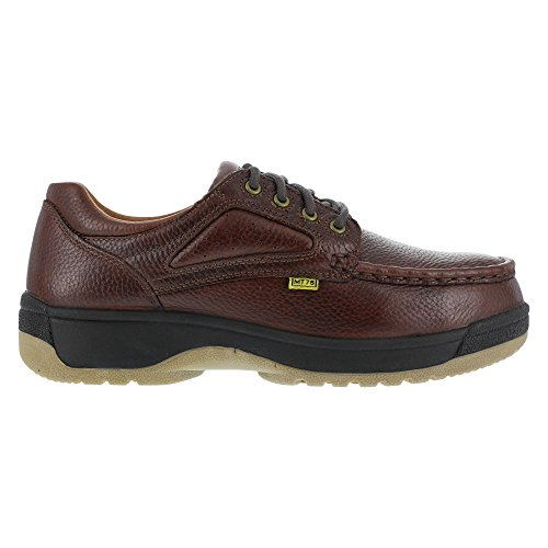 FE244 Florsheim Women's Eurocasual Safety Shoes - Dark Brown - 9.0 - D