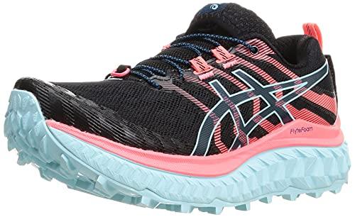 ASICS Trabuco MAX, Zapatillas para Correr Mujer, Black Blazing Coral, 44.5 EU