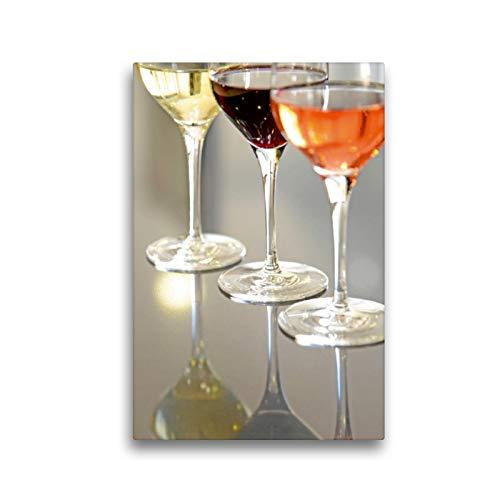 Premium Textil-Leinwand 30 x 45 cm Hoch-Format Madiran Wein | Wandbild, HD-Bild auf Keilrahmen, Fertigbild auf hochwertigem Vlies, Leinwanddruck von Patrice THEBAULT