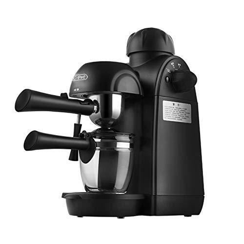 GAOFQ Cafetera semiautomática, Mini cafetera casera, Bomba de Vapor para espumar café con Leche y Capuchino de 240 ml