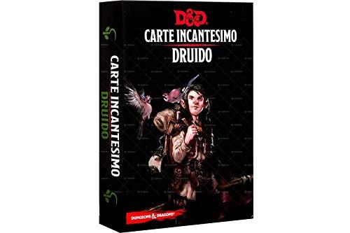 Asmodee- Dungeons & Dragons 5a Edizione Carte Incantesimo Druido, Colore, 4007