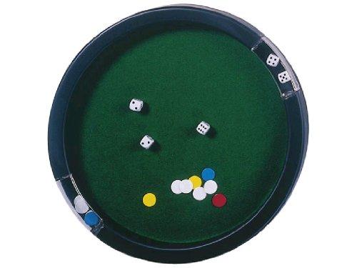 Kim play - 451380 - Jeux de société - Piste de jeu pour yams 45 cm avec des et jetons