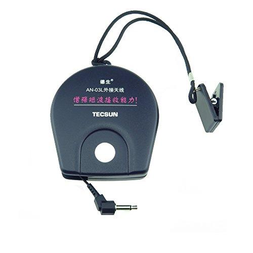 Tecsun Externe Antenne Radios zur Verbesserung des UKW/KW Empfangs (AN03)