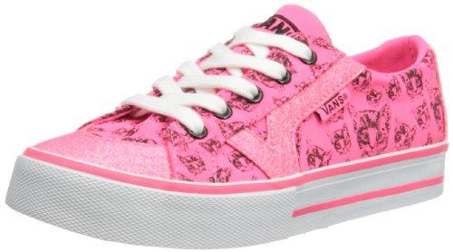 Vans Mädchen Tory Low-top, Neon Pink/Black, 5 UK