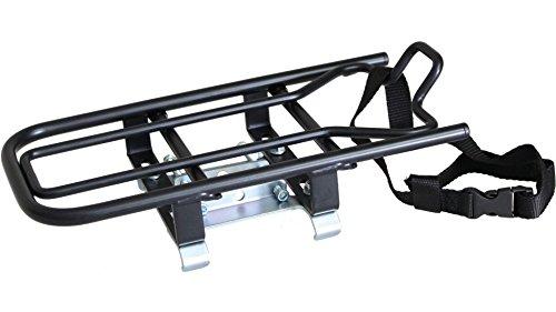 STECO Aufsatz-Gepäckträger E-Bike schwarz 50.511.11 8713397009335 Fahrrad