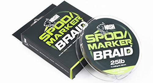 Nash Trecce da Bobina Spod And Marker Braid Verde Unica