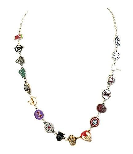 Marvel Comics Avengers Pendant Necklace