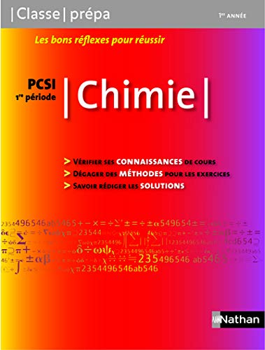 Chimie PCSI - 1ère année / 1ère Période