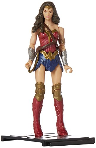 Mattel DC Comics Justice League Wonder Woman Logo Plates 6 Inch Figura De Acción