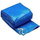 PSOIHGTFS 55333 Piscina sobre Suelo portátil Ground Cloth, Aplicar para Redonda con Bomba Nadar Piscina, 360 x 90 cm, Ground Cloth