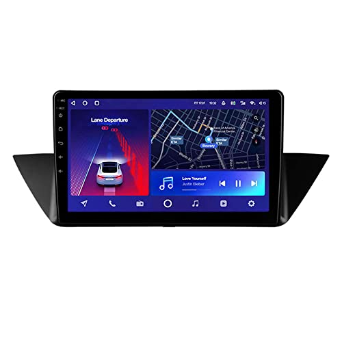 ADMLZQQ Android 10.0 Radio de Coche para BMW X1 E84 2009-2012 Navegador GPS con WIFI/4G/Bluetooth/FM/RDS/USB/Control del Volante/Enlace Espejo/Cámara Trasera,8core 4g+WiFi: 4+64g