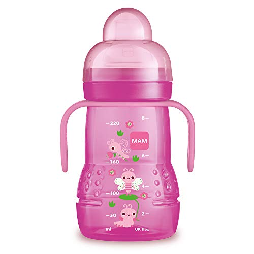 MAM Baby Products 62838222 Bottle Trainer Plus 220 ml Girls , Assorted Colors