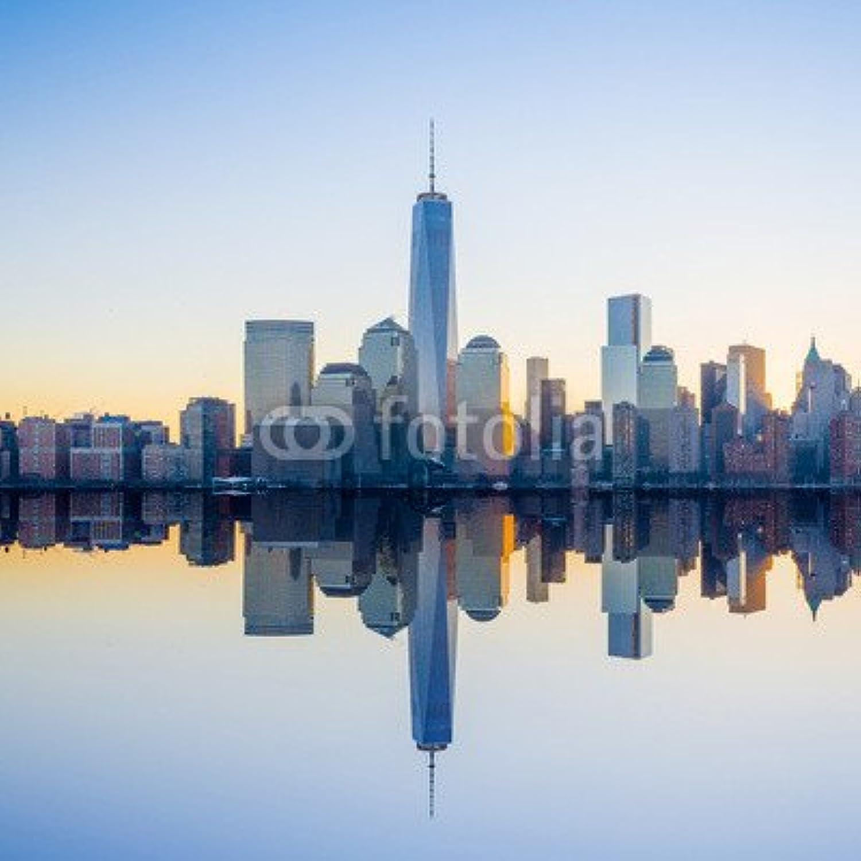 precios ultra bajos Horizonte de Manhattan (61508135), lona, lona, lona, 50 x 50 cm  aquí tiene la última