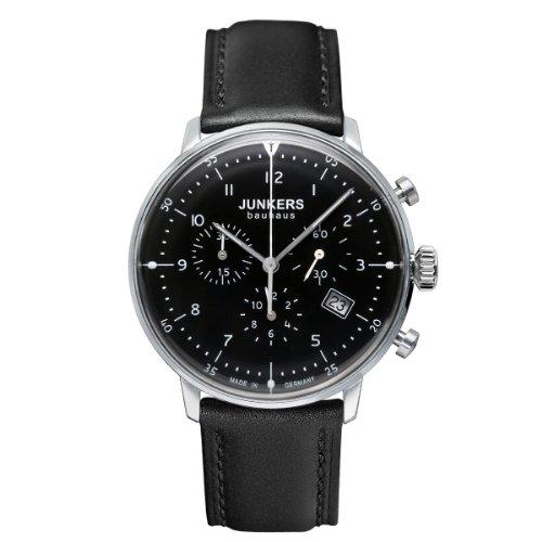 Junkers Herrenuhr Chronograph Quarz mit Lederarmband – 60862