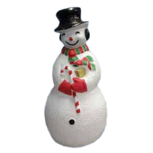 United Solutions 75300 Large Snowman, Illuminated with Cord and Light Included, 40'