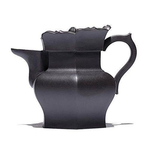 XUSHEN-HU Kaffee Teekanne Schwarzer Schlamm hoher Kapuziner Industrie und Handgeschenkideen Erz Metall