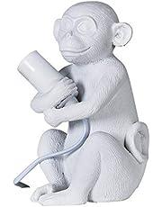 MiniSun – Tafellamp met baby-aapje motief – Aap tafellamp – Tafellamp aap – Aap lamp – Aaplamp – Lamp aap (E14, 40W) [Energieklasse A++]