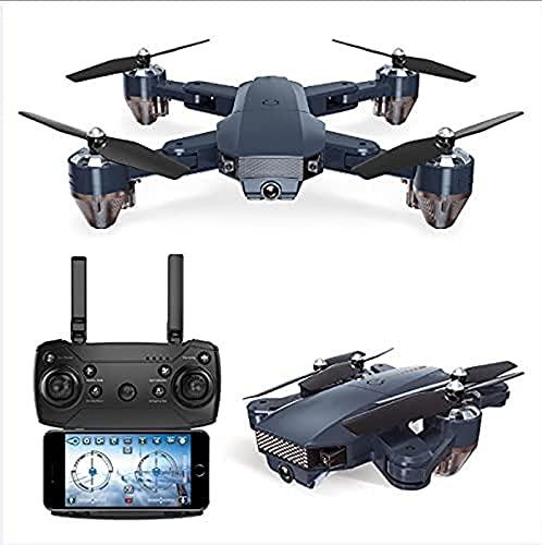 JJDSN Drone Plegable GPS FPV con cámara 4K HD Video en Vivo para Principiantes RC Quadcopter con GPS Regreso a casa Sígueme Control de Gestos Circle Fly Auto Hover 5G Transmisión WiFi