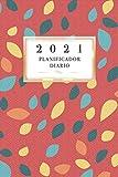2021 Planificador Diario: Arte Floral Diario Planeación Semanal Año 2021 de Domingo a Sábado Planeación Oportuna Organízate Agenda Anual Año Nuevo ... Semanas Naranja Color Académico Profesional