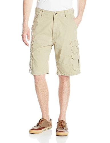 Wrangler Men's Big-Tall Authentics Premium Cargo Short, Camel, 46