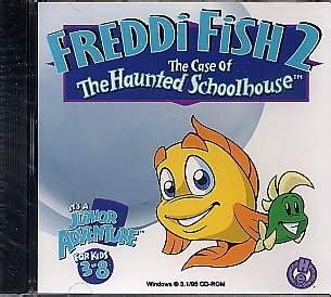 Freddi Fish 2 der Koffer des Spukhauses