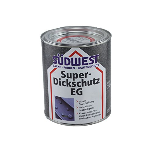 Südwest Super-Dickschutz EG Eisenglimmer 0,75 Liter DB 703 Dunkelgrau