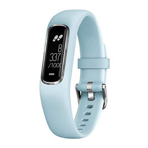 vivosmart 4, WW, Blue/Silver, S/M (Reacondicionado)