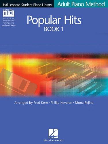 Hal Leonard Adult Piano Method Popular Hits Book 1 Pf Book/Gm Disk