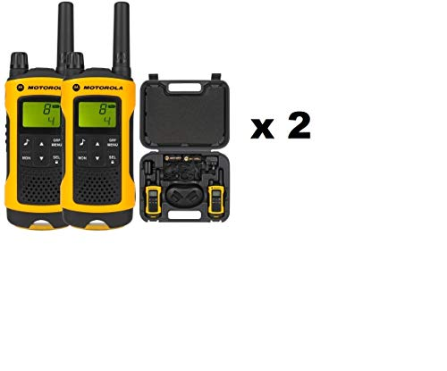Motorola TLKR T80 Extreme Two-Way Radio - PMR (Quad), [Importado de UK]