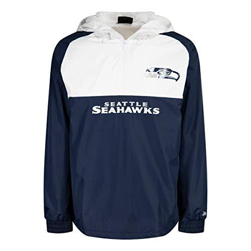New Era Block Windbreaker Jacke - Seattle Seahawks - L