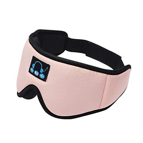 Bonbela Shading Sleep Eye Cover Bluetooth 5.0 3D Wireless Stereo Earphone Sleeping Eye Mask Soft Earphones Sleeping Eye Mask Office Travel Birthday Gifts
