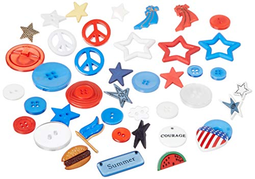 Buttons Galore and More Collection Round Novelty Buttons & Embellishments Based on Variety of...