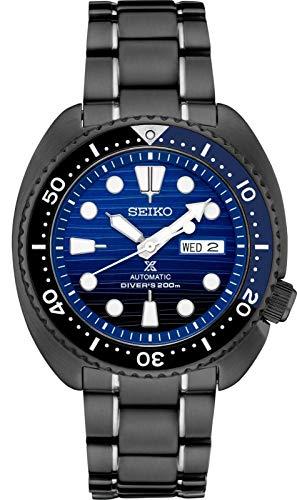 Relógio Seiko Prospex SRPD11 Edição Especial Preto de Aço Banhado a Íons