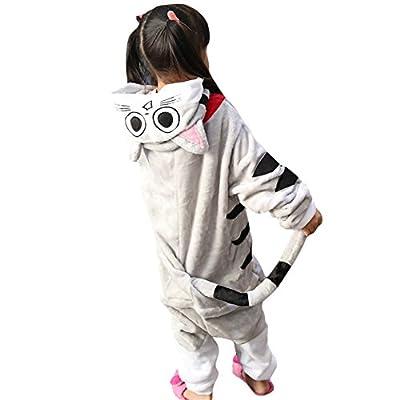 Amurleopard Kids Animal Pajamas One-Piece Cosplay Sleepwear Onesies Pajamas Nightwear