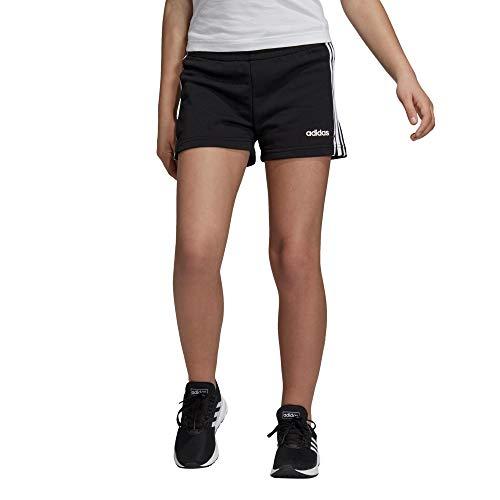 adidas Mädchen Shorts Essentials 3-Streifen, Black/White, 128, DV0351