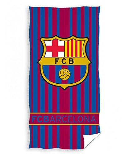 FC Barcelona - Toalla de playa (140 x 70 cm, 100 % algodón Öko-Tex FC Barcelona)