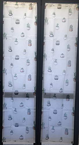 2 cortinas para ventana o ventana fabricadas en Italia Dis. Planta grasa.