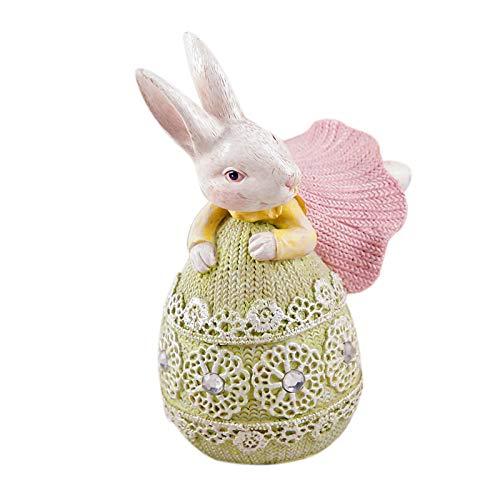 Zewuai Easter Gift Cute Rabbit Bedroom Room Decoration Children'S Room Desktop Decorationsspring Gnome Lucky Hanging Ornament