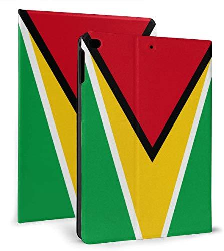 Funda Inteligente de Cuero PU con Bandera de Guyana, función de Reposo / activación automática para iPad Mini 4/5 7,9 'y Funda para iPad Air 1/2 9,7'