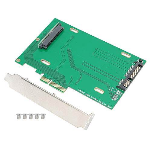 Tarjeta adaptadora PCI-E X4, Tarjeta convertidora SSD PCI-E NVMe de 2,5 Pulgadas Placa convertidora SSD para Placa Base y SSD PCIe 750 NVMe