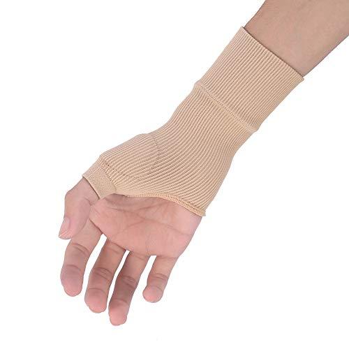 Muñequera para pulgar, 1 par de vendajes flexibles para el pulgar, de spandex y nailon, Soporte para pulgar y muñeca para pulgar y muñeca