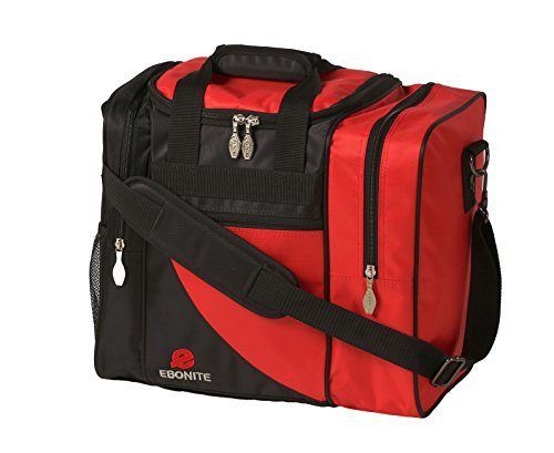 Ebonite Impact Single Tasche, Unisex, BAG149BKRD, rot, Einheitsgröße