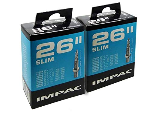 Impac 2 Paquets Cycle Tubes 26\
