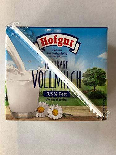 Hofgut - Haltbare Vollmilch 3,5% Fett (12 x 0,5l)
