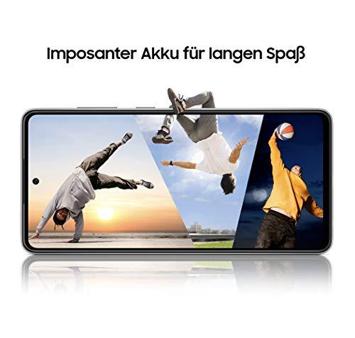 Samsung Galaxy A52 5G Smartphone ohne Vertrag 6.5 Zoll Infinity-O FHD+ Display, 128 GB Speicher, 4.500 mAh Akku und Super-Schnellladefunktion, blau, 30 Monate Herstellergarantie [Exklusiv bei Amazon] - 7