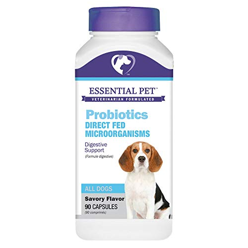 Essential Pet Probiotics with Direct-fed Microorganisms for Digestive Support in Dogs