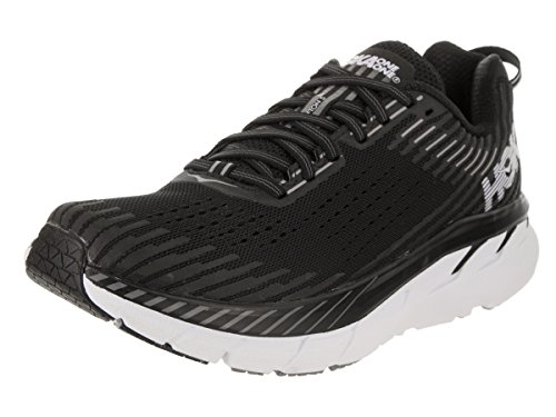 Hoka One One Damen Clifton 5 Running Shoes Women Black/White EU 42