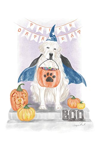TRICK OR TREAT Doggy  Blank Lined Journal by IMPRINTED