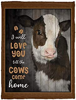 Best love you till the cows come home blanket Reviews